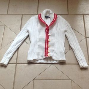 BROOKS BROTHERS Chunky Cardigan Sweater.  Sz XS
